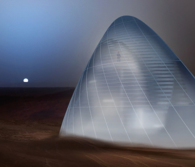 Mars Ice House by SEArch+ / CloudsAO